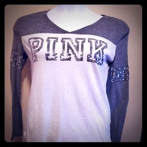 💥 Victoria's Secret PINK XS long sleeve tee